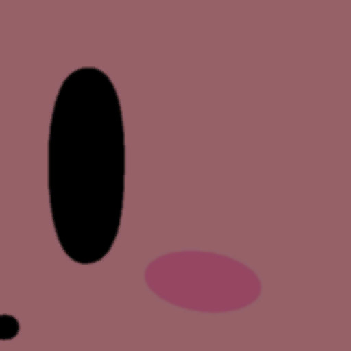 Minimalistic Kirby Super Smash Bros