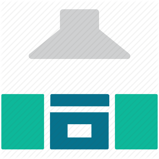 Hood, Kitchen, Kitchen Cabinet, Kitchen Furniture Icon