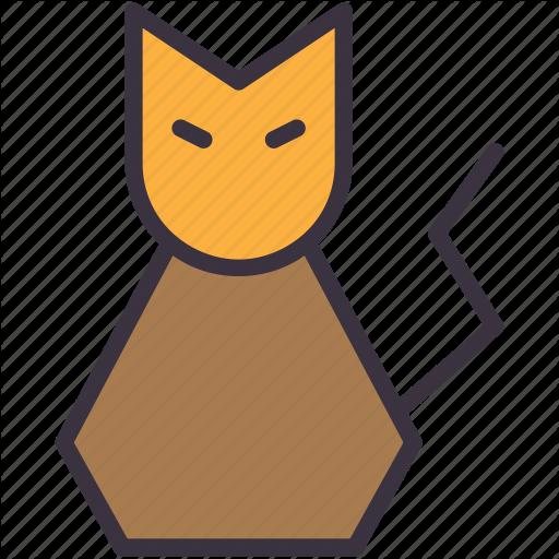 Black Cat, Cat, Evil, Halloween, Kitty Icon