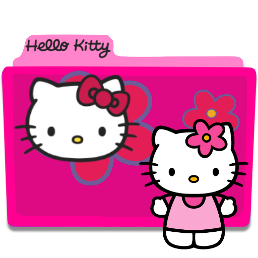 Hello Kitty Folder Icon