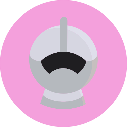Medieval, Knight, Protection, Armour, Helmet Icon