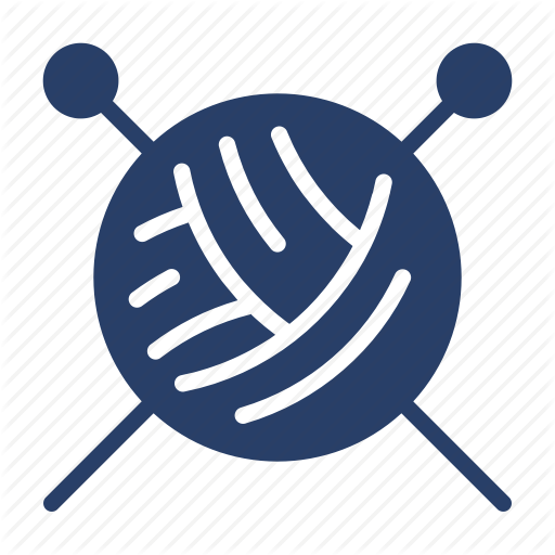 Knit, Knitting, Sewing, Tailor, Tailoring Icon