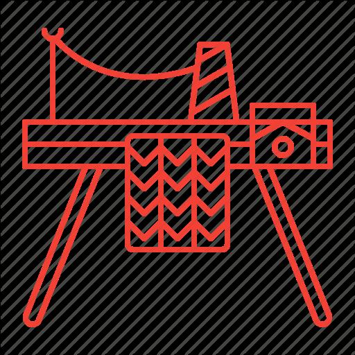 Knitting, Machine Icon