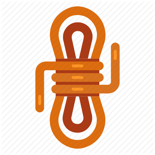 Camping, Camping Equipment, Climbing, Hiking, Knot, Outdoor, Rope Icon