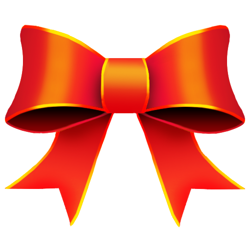 Ribbon, Red, Christmas Icon Free Of Christmas Icons