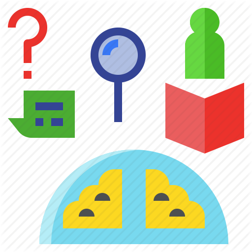 Experience, Information, Knowledge, Learning, Study Icon