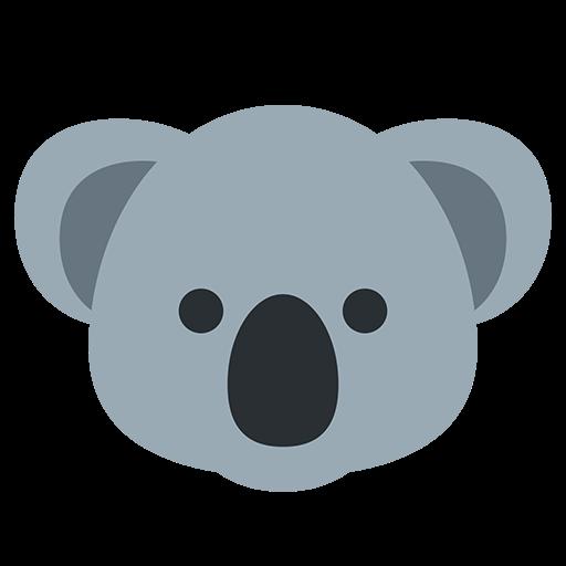 Koala Emoji For Facebook, Email Sms Id