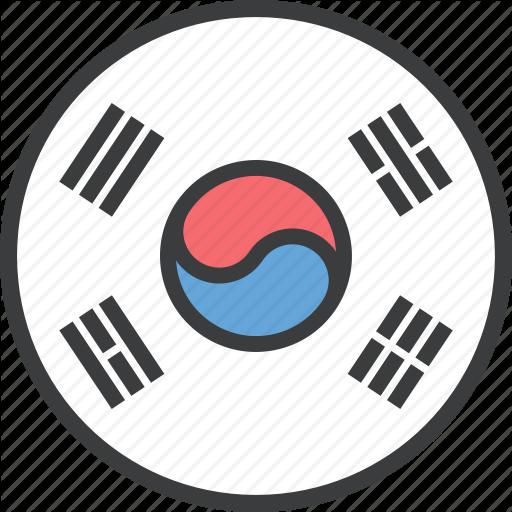 Asian, Country, Flag, Korea, Korean, South Icon