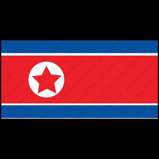 Download North Korea,flag Icon Inventicons