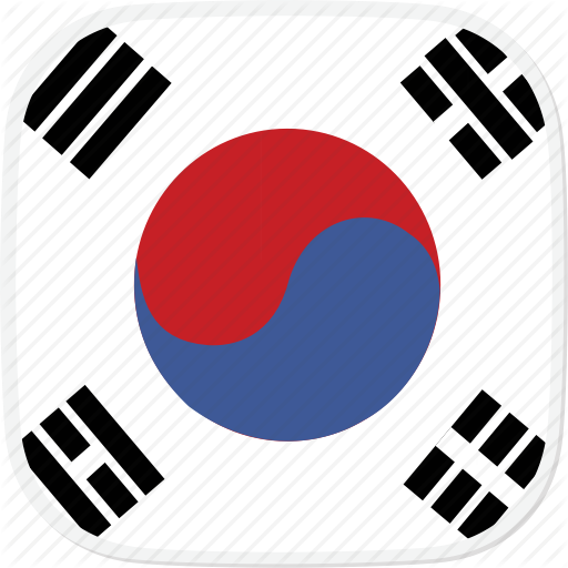 Flag, Korea, Kr, South Icon