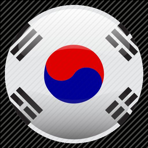 Flag, Korea, South Korea, Icon