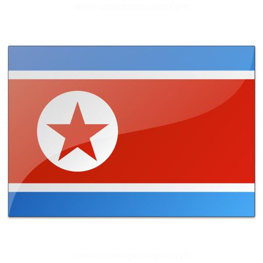 Iconexperience V Collection Flag North Korea Icon