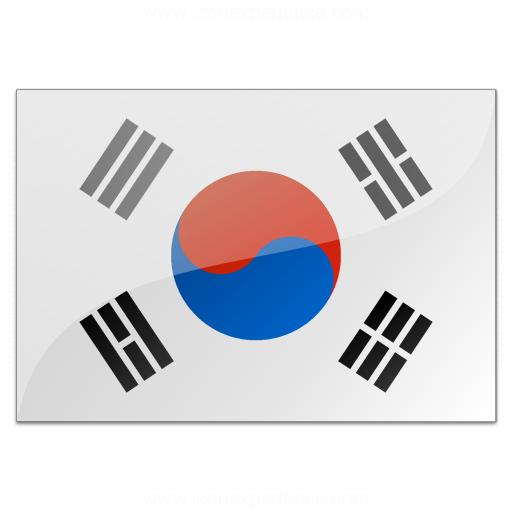 Iconexperience V Collection Flag South Korea Icon