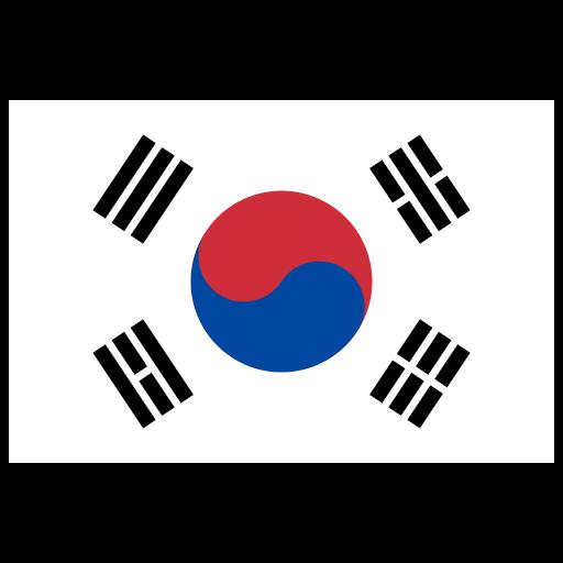 Kr South Korea Flag Icon