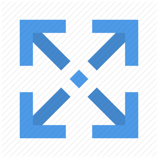 Arrow, Expand, Position Icon