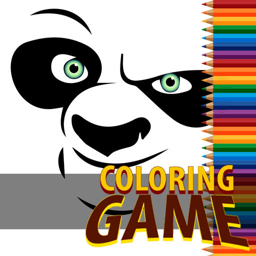 Finger Coloring Book For Kids Kung Fu Poo Special Edition