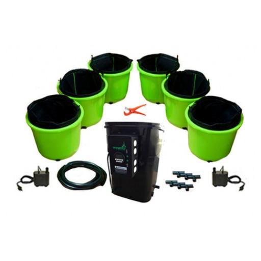 Oxygen Pot Systems Super Flow Digital Xl Hydroponic Grow System