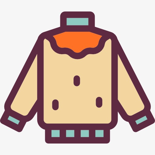 A Coat, Cotton, Coat, Cartoon Png Image And Clipart For Free Download