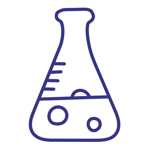 Lab, Laboratory, Goggles, Education, Chemicals Icon
