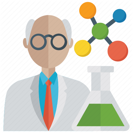 Analyst, Lab Technician, Researcher, Science Teacher, Scientist Icon