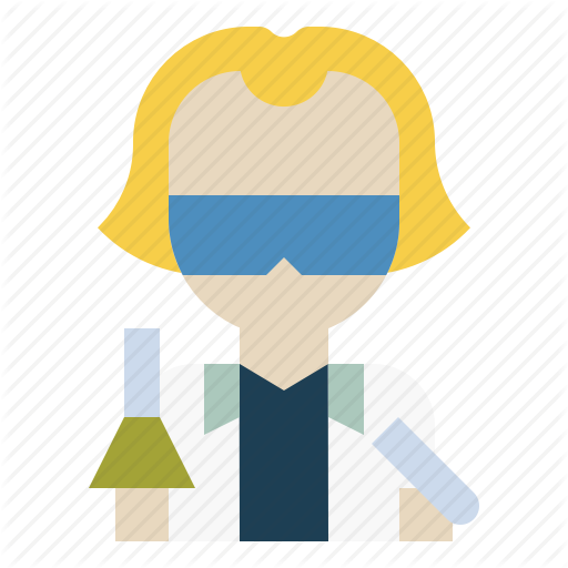 Avatar, Human, Lab, People, Profile, Scientist, Technician Icon