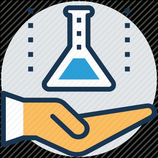 Hand Holding Beaker, Lab Assistant, Lab Attendant, Lab Care