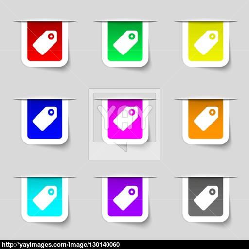 Special Offer Label Icon Sign Set Of Multicolored Modern Labels