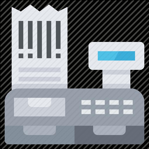 Barcode, Code, Data, Label, Printer, Receipt, Tax Icon