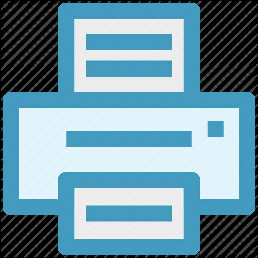 Copier, Facsimile, Fax, Fax Machine, Printer Icon