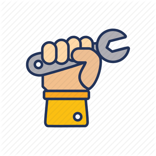 Day, Hand, Labor, Labour, Wrench Icon