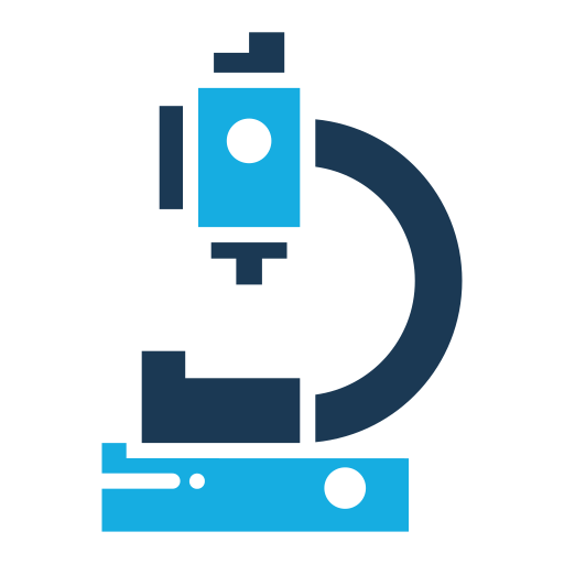 Microscope, Laboratory Icon Free Of Medical Flat Color