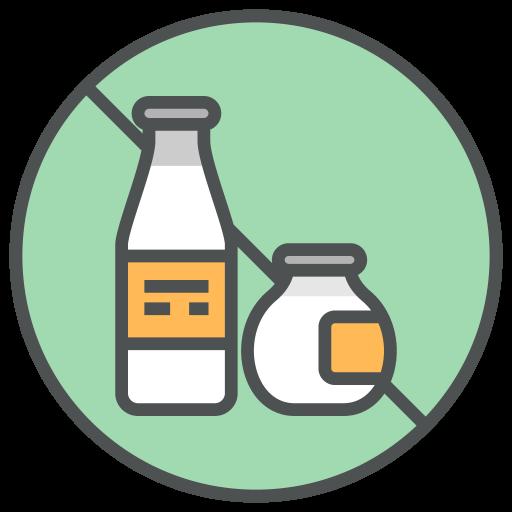 Lactose, Gratis, Allergenen Pictogram Gratis Van Allergy Info