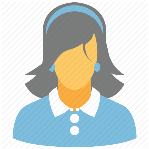 Customer, Female, Girl, Lady, Person, Woman, Women Icon