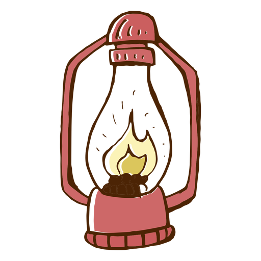 Camping Lamp Icon