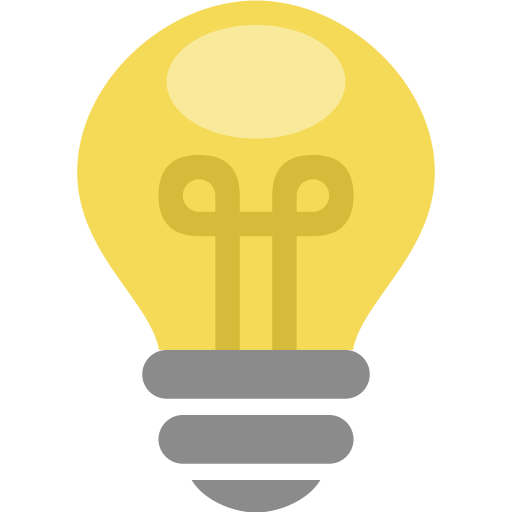 Bulb, Thought, Energy, Electric, Idea, Light, Lamp Icon