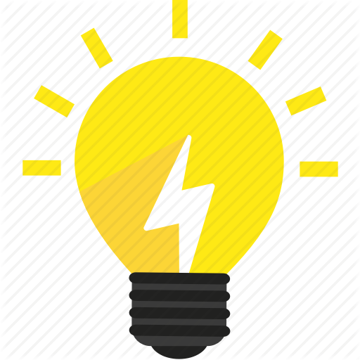 Bright, Bulb, Creative, Energy, Idea, L Light Icon