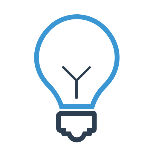 Bulb, Business Idea, Creative, Lamp Icon