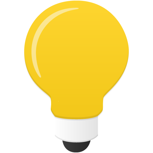 Bulb Icon Flatastic Iconset Custom Icon Design