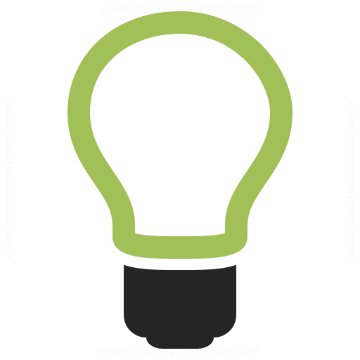 Lightbulb Off Icon Iconexperience