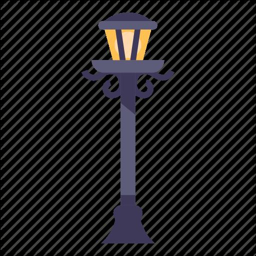 City, L Lantern, Light, Post, Urban Icon