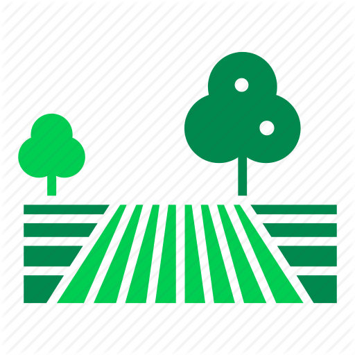 Countryside, Farm, Field, Land, Landscape, Nature, Orchard Icon