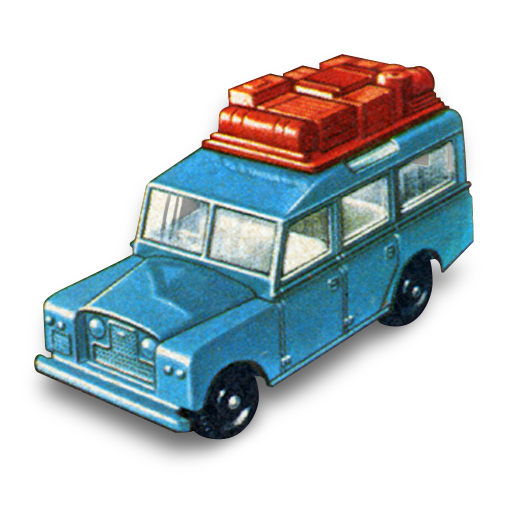 Safari, Land, Rover Icon Free Of Matchbox Cars Icons