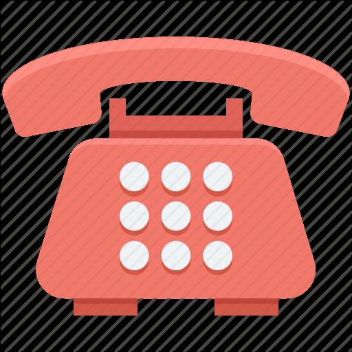 Contact Us, Landline, Phone, Retro Telephone, Telephone Icon