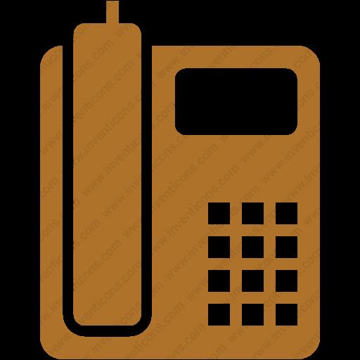 Download Communication,telephone,telephone,landline Icon Inventicons