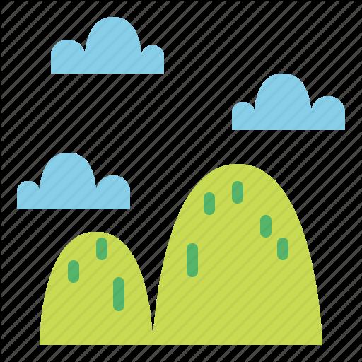 Altitude, Landscape, Mountain, Nature Icon