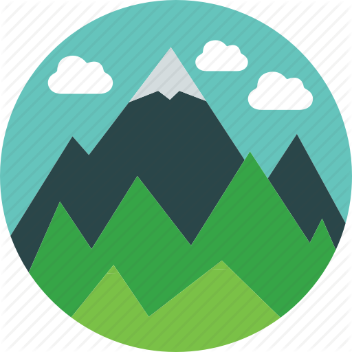 Climb, Clouds, Forest, Landscape, Mountain, Nature, Snowcap Icon