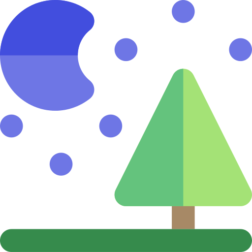 Landscape Night Png Icon