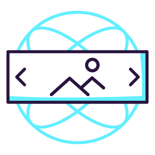 Augmented Reality Landscape Icon