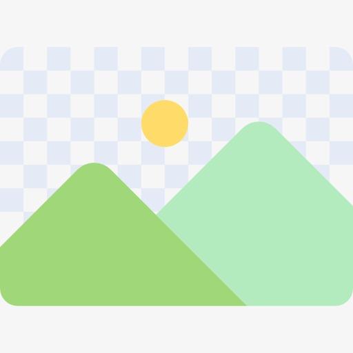 Landscape Icon, Landscape Clipart, Mark, Icon Png Image