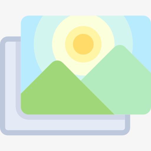 Landscape Icon, Landscape Clipart, Mark, Landscape Png Image